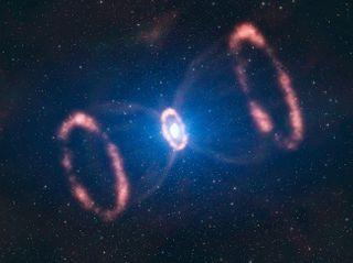Астрономы увидели, как зарождается звездная пыль