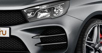 Если надоела «Веста Спорт» или как выглядит LADA Vesta в обвесе AMG – рендер