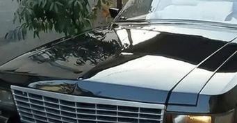 Самоделку ГАЗ-3102 в стиле «Кадиллак» показали в сети