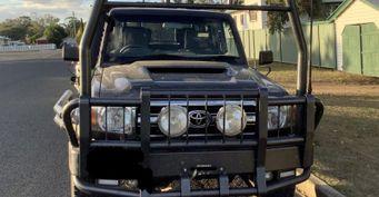 В Австралии оштрафовали владельца Toyota Land Cruiser из-за гигантского кенгурятника