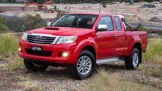 Toyota выводит на мировой рынок модель Hilux