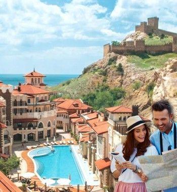 «Черногория» в отеле Судака и другие «европейские» гостиницы Крыма