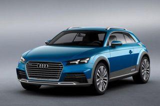 В Пекине Audi представила модель ТТ в версии вседорожника