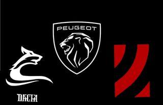 Dacia, Peugeot иLADA. Коллаж: «Покатим!»