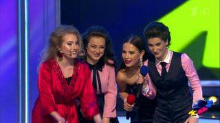 Женская команда наКВН. Источник: 1tv.com