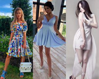 платья летний зной 2020