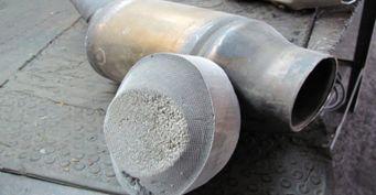 Эксперты подсчитали, засколько можно продать забитый катализатор