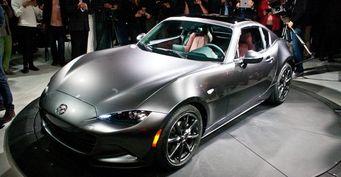 За неделю Mazda продала 1 000 родстеров MX-5 Miata RF