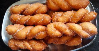 Корейские ванильные пончики: Пошаговый рецепт свидео