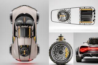 Bugatti Terra Cross 4×4. Концепт: Behance, Rafał Czaniecki