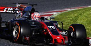 Haas F1 испытывает новые тормоза на Гран-при Бахрейна