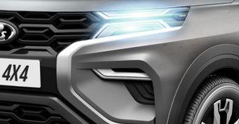 «Крузакам» непонравится: Серийная LADA 4×4 Vision набазе Mitsubishi Pajero показана нарендерах