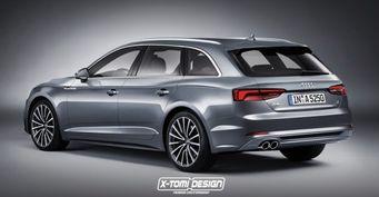 В сети появился рендер универсала Audi A5 Avant