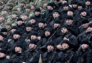 Кадыровцы / чеченский спецназ