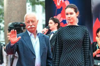 Леонид Якубович и дочь Варвара. Фото: ТАСС