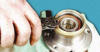Как самостоятельно заменить подшипник ступицы заднего колеса на автомобилях ВАЗ?