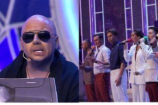 Команда КВН «Татнефть» ичлен жюри Нагиев. Коллаж: pokatim.ru
