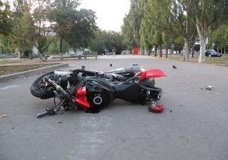 В Санкт-Петербурге в результате ДТП погиб мотоциклист