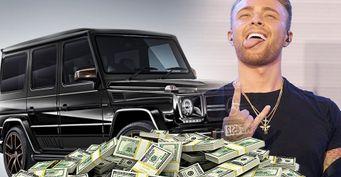 6млн рублей: Егор Крид развелфанатов наденьги иMerсedes-Benz G-класс— блогер