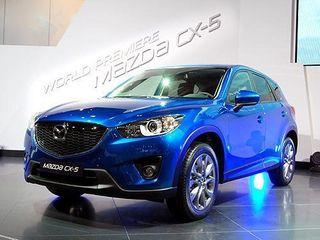 Mazda испытывает свой обновленный кроссовер СХ-5