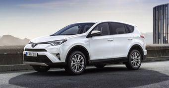Продажи гибридных Toyota на европейском рынке выросли на 41%