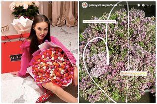 Анастасия Костенко ибукет ВысоцскойФото: instagram.com/kostenko.94; instagram.com/juliavysotskayaofficial