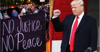 Трамп готов ответить силой на отстрел его сторонников в Портленде