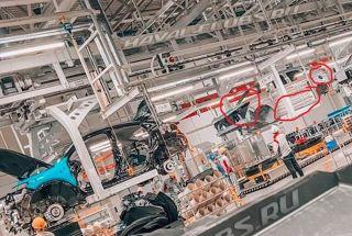 Haval H6 на конвейере Тульского завода, источник: haval-clubs.ru