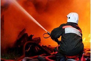 На ж/д станции «Люблино» на юго-востоке Москвы тушат пожар