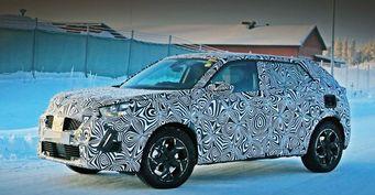 Прототип нового Peugeot 2008 замечен на дорожных тестах