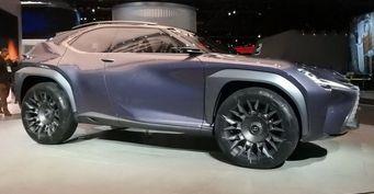 В Детройте представили концепт кроссовера Lexus UX