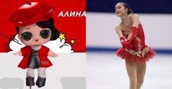 «Позор таким умельцам»: Поклонники Алины Загитовой ужаснулись куклой вобразе фигуристки