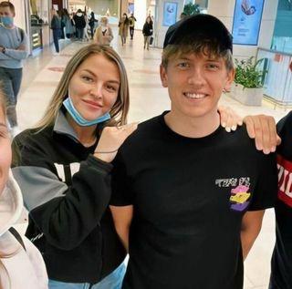 Алексей Щербаков с женой Еленой. Фото: vk.com