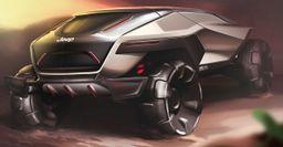 В сети появились рендеры Jeep 2035 - внедорожника будущего
