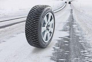Новинка от Goodyear - зимние шипованные шины Goodyear UltraGrip Ice Arctic SUV