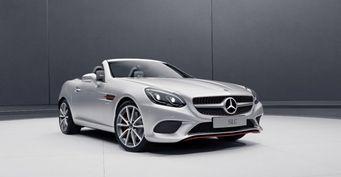 Состоялась премьера спецверсий роскошных родстеров Mercedes-Benz SL и SLC