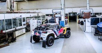 Peugeot показал раскраску раллийного внедорожника 3008 DKR