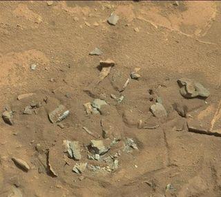 Бедренная кость, нашедшая на Марсе, оказалась камнем