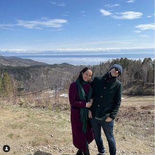 Ваня Абрамов с женой фото