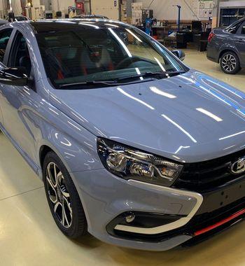 Black cars matter: Продажи LADA Vesta Sport «АвтоВАЗ» решил спасти чёрной крышей