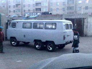 УАЗ 6×6. Фото: «Вездеходы, ВКонтакте»