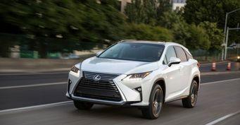 Продажи Lexus достигли рекордных продаж в Росии