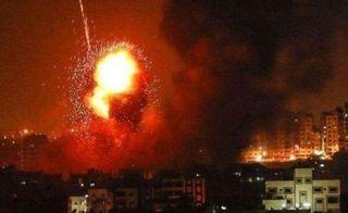 Фото: Взрывы в провинции Идлиб, источник: Sohu