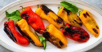 Как намангале: Сладкий перец споджаристой корочкой вдуховке