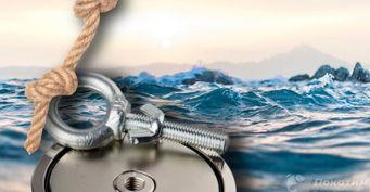 Отфонаря добанкомата: Как ловят «клады» изарабатывают намагнитной рыбалке
