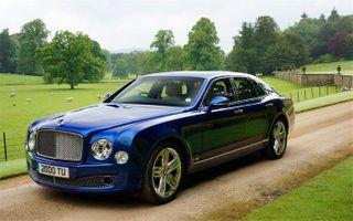 Bentley представит гибридный кроссовер на базе седана Mulsanne