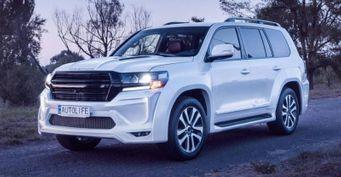 «Крузак» по-украински: Люксовый Toyota Land Cruiser 200 показали тюнеры