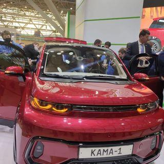 Фото: Электрокар «КАМА-1», источник: «КАМАЗ»