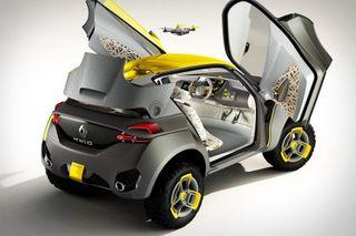 Renault готовит к запуску новый компактный кроссовер Kwid в 2016 году