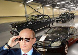 Владимир Путин ипрезидентские автомобили. Коллаж: портал «Покатим»